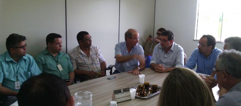 Secretários se reúnem com Prefeito e Fortefrigo em Paragominas